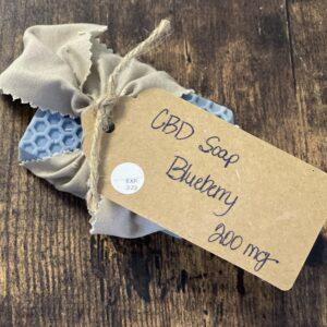 CBD Blueberry Soap