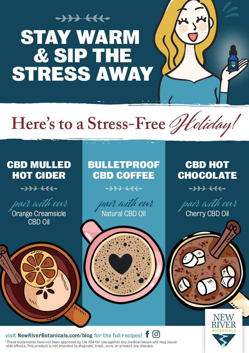 Stay Warm & Sip the Stress Away (Infographic)