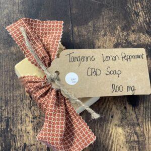 CBD Tangerine & Lemon Soap