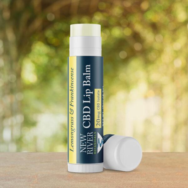 Lemongrass & Frankincense CBD Lip Balm