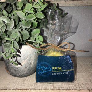 CBD Lemongrass & Frankincense Bath Bomb
