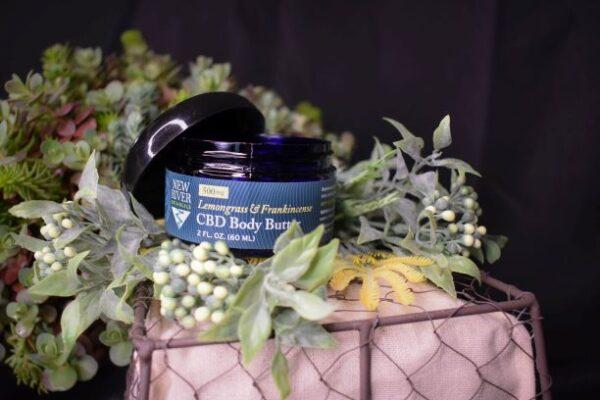 Lemongrass & Frankincense Body Butter